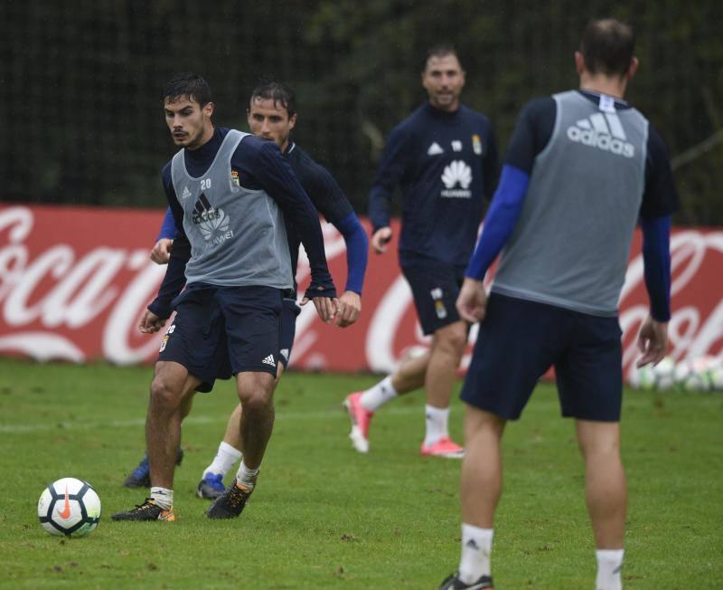 Entrenamiento del Real Oviedo (18/10/2017)