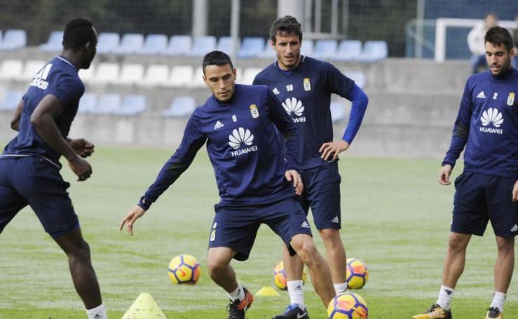 Entrenamiento del Real Oviedo (01/11/17)
