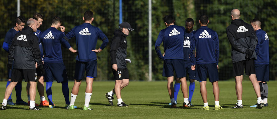 Entrenamiento del Real Oviedo (15-11-2017)
