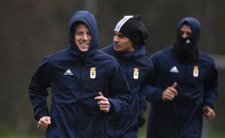 Entrenamiento del Real Oviedo (08/12/17)