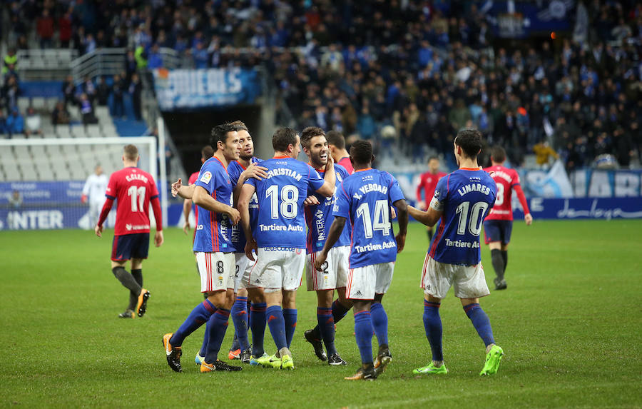 Real Oviedo 1 - 0 Osasuna, en imágenes
