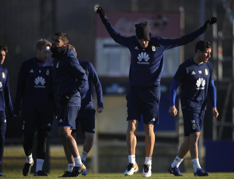Entrenamiento del Real Oviedo (21/12)