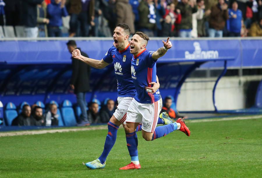 El Real Oviedo 3-0 Cultural, en imágenes