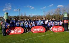 El Real Oviedo presenta su calendario Coca-Cola