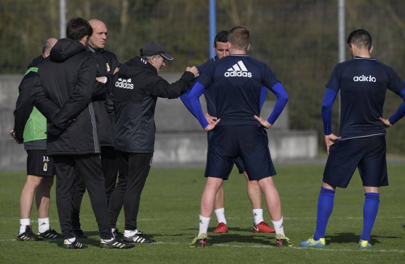 Entrenamiento del Real Oviedo (22-02)
