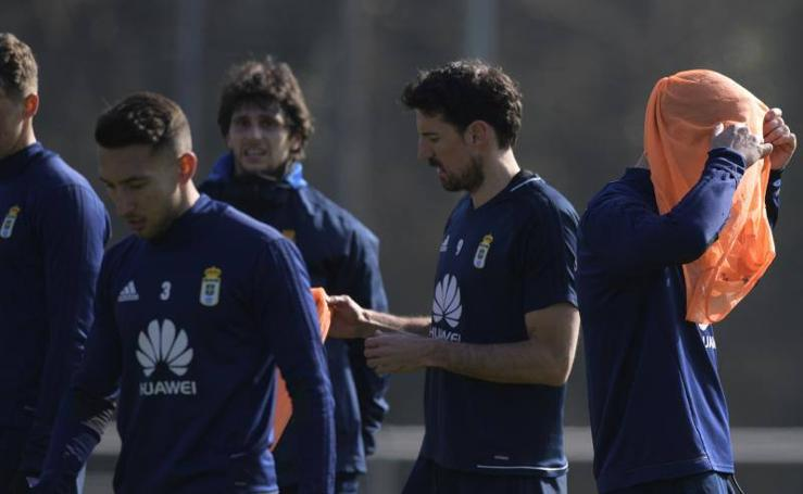 Entrenamiento del Real Oviedo (26/02/2018)