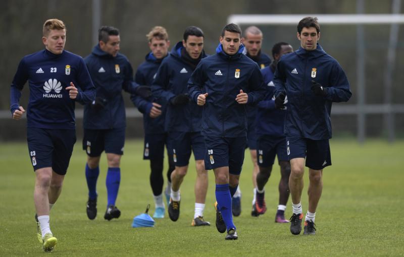 Entrenamiento del Real Oviedo (20/03/18)