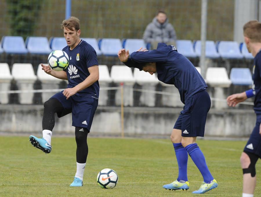 Entrenamiento del Real Oviedo (23-03-2018)