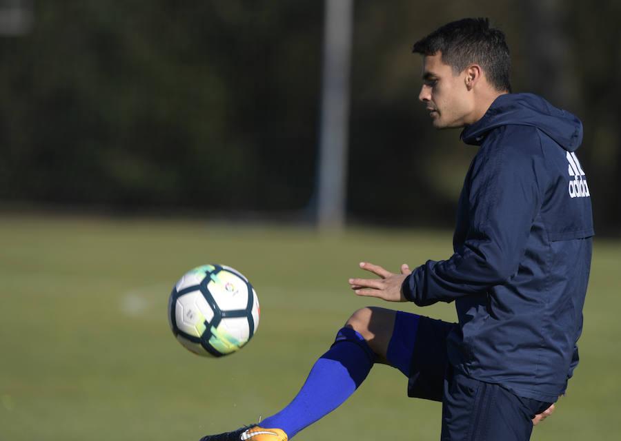 Entrenamiento del Real Oviedo (29/3/18)