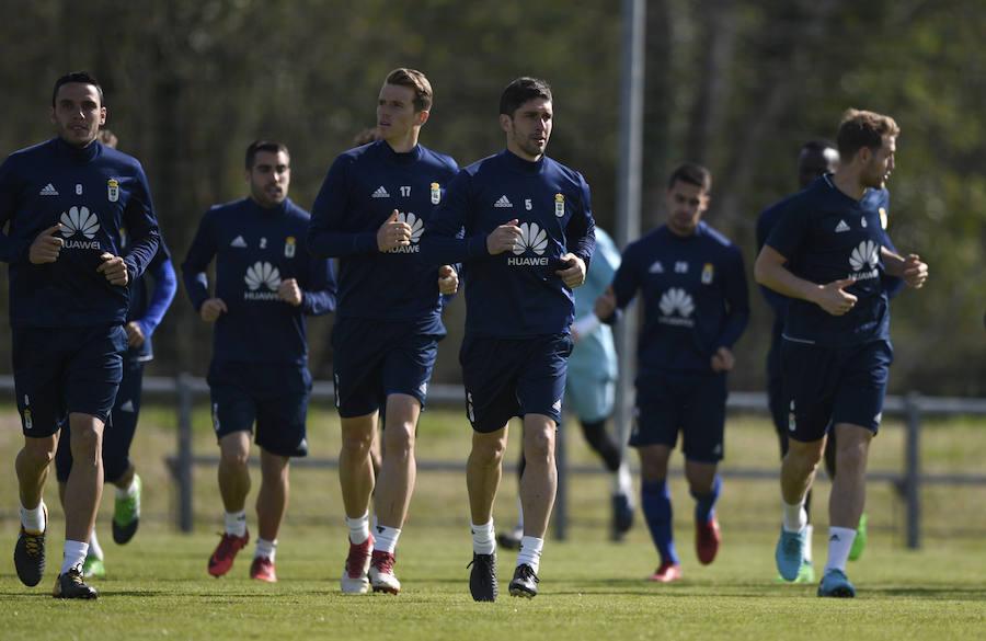 Entrenamiento del Real Oviedo (06-04-2018)