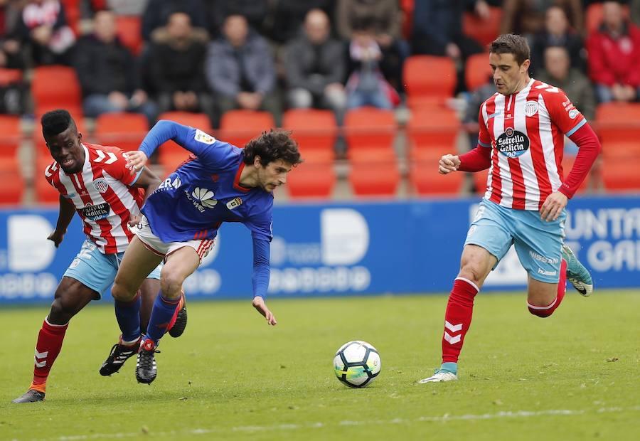 El Lugo 0-1 Real Oviedo, en imágenes