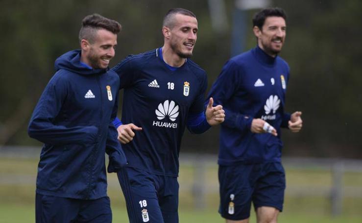 Entrenamiento Real Oviedo (09-04-2018)