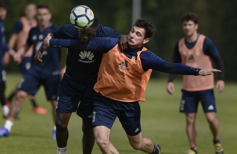Entrenamiento del Real Oviedo (12/04/18)