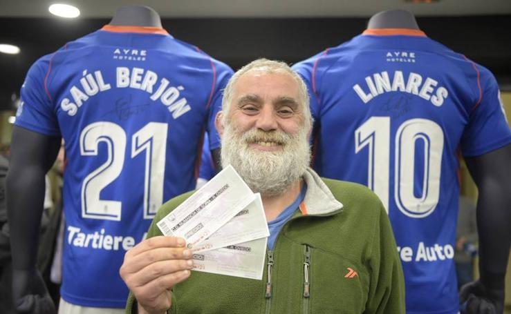 Venta de entradas para el partido entre el Numancia y el Oviedo