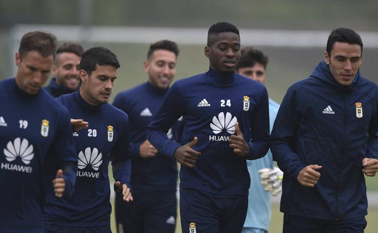 Entrenamiento del Real Oviedo (08-05-2018)