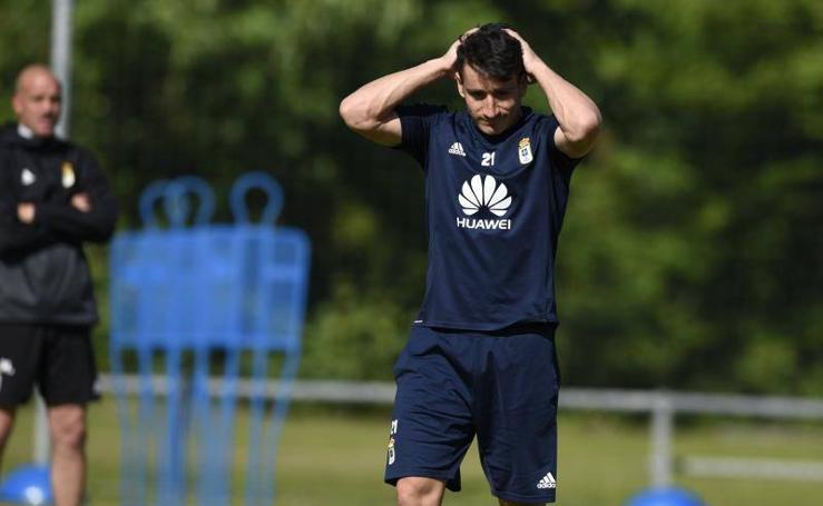 Entrenamiendo Real Oviedo (14-05-2018)