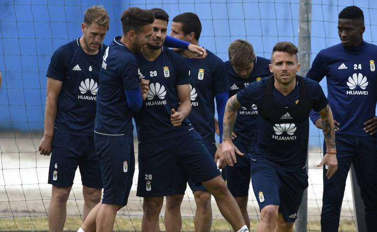 Entrenamiento del Real Oviedo (18-05-2018)