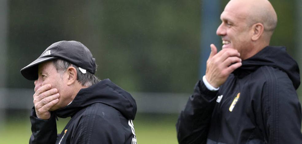 Anquela recupera a Christian Fernández y Mariga para enfrentarse al Huesca