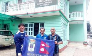 Inauguración de la Peña Azul Katmandú