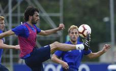 Entrenamiento del Real Oviedo (12-07-2018)