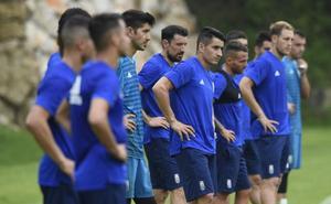Real Oviedo | Anquela da la primeras pinceladas
