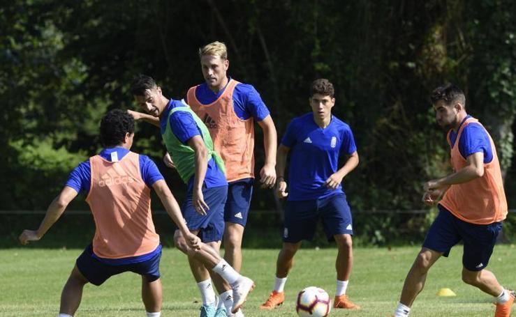 Entrenamiento del Real Oviedo (13-07-2018)