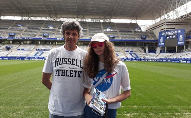 Vuelta al Carlos Tartiere 27 años después