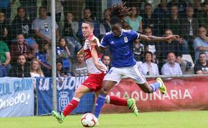 Real Oviedo | Steven presenta sus credenciales