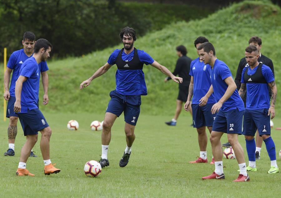 Entrenamiento del Real Oviedo (25/07)