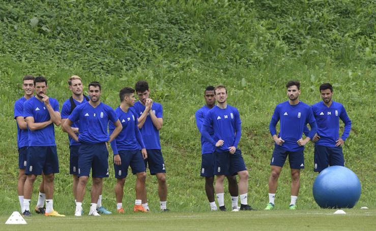 Entrenamiento del Real Oviedo (27/07/18)