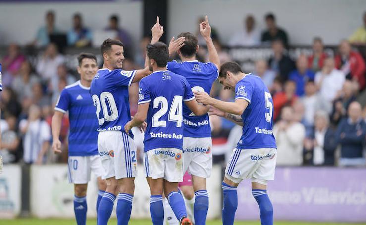 Real Oviedo - Gimástica (2-1), en imágenes