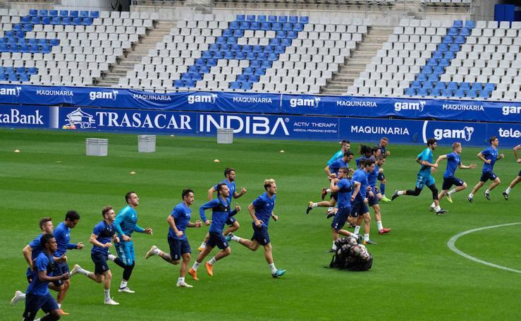 Entrenamiento del Real Oviedo (02-08-2018)