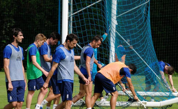 Entrenamiento del Real Oviedo (03/08/18)