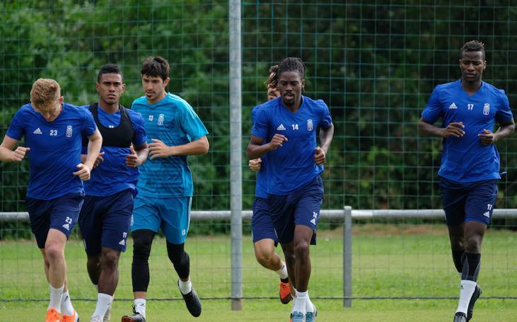 Entrenamiento del Real Oviedo (07-08-2018)