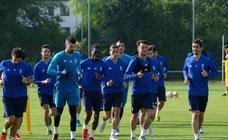 Entrenamiento del Real Oviedo (10/08/18)