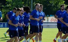 Entrenamiento del Real Oviedo (13-08-2018)
