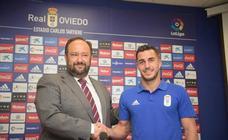 Presentación de Joselu, el nuevo fichaje del Real Oviedo