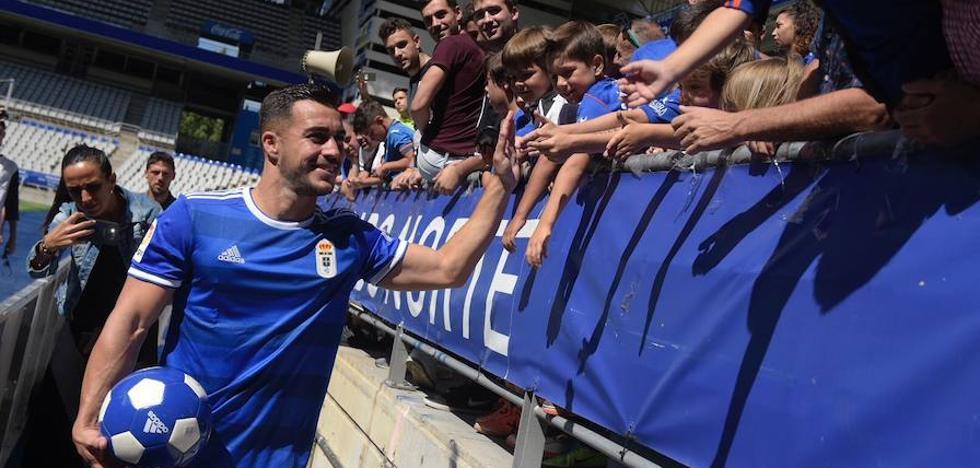 Joselu: «Quiero asentarme y el Oviedo tiene un equipo muy ilusionante»