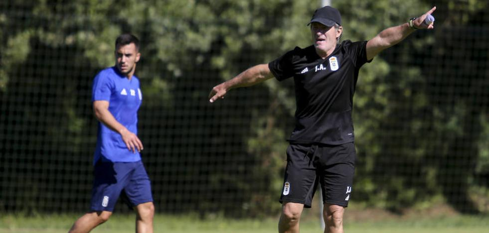 Anquela: «Este club tiene unas posibilidades enormes y, si tiene tranquilidad, volverá»