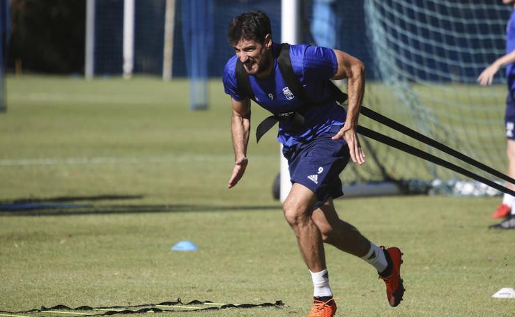 Entrenamiento del Real Oviedo (15-08-2018)