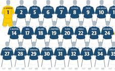 Saúl Berjón será el '10' del Real Oviedo esta temporada