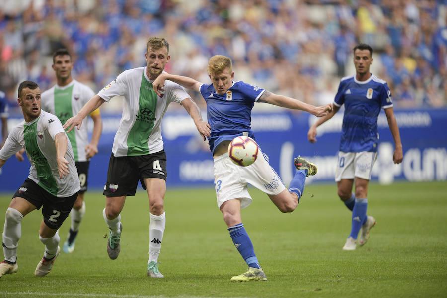 Real Oviedo 1-1 Extremadura, en imágenes