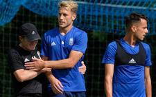 Entrenamiento del Real Oviedo (21-08-2018)
