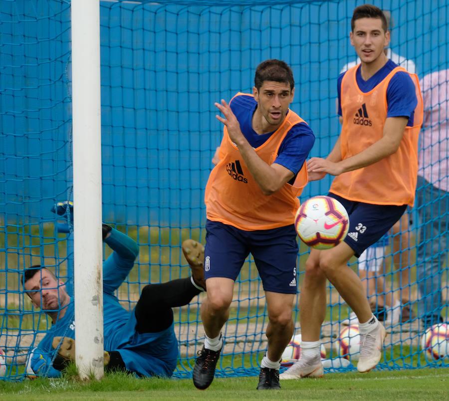 Entrenamiento del Real Oviedo (22-08-2018)