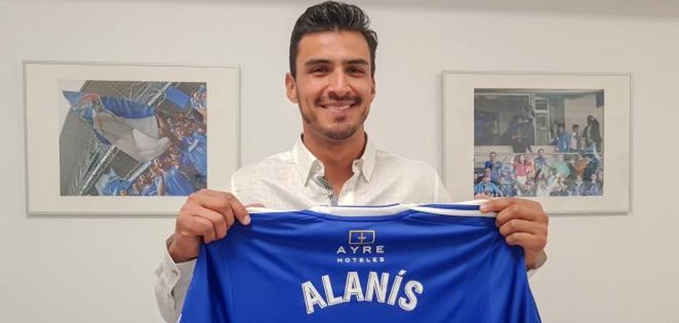 Alanís apuntala la retaguardia del Real Oviedo