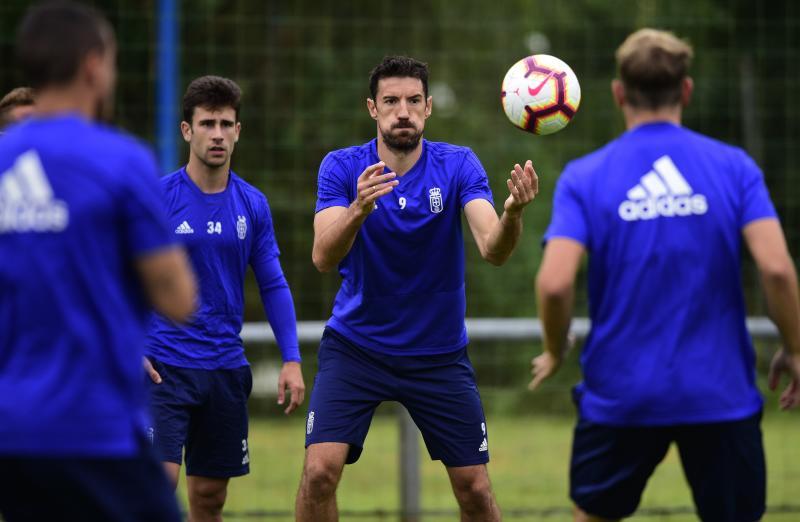 Entrenamiento del Real Oviedo (04/09/18)