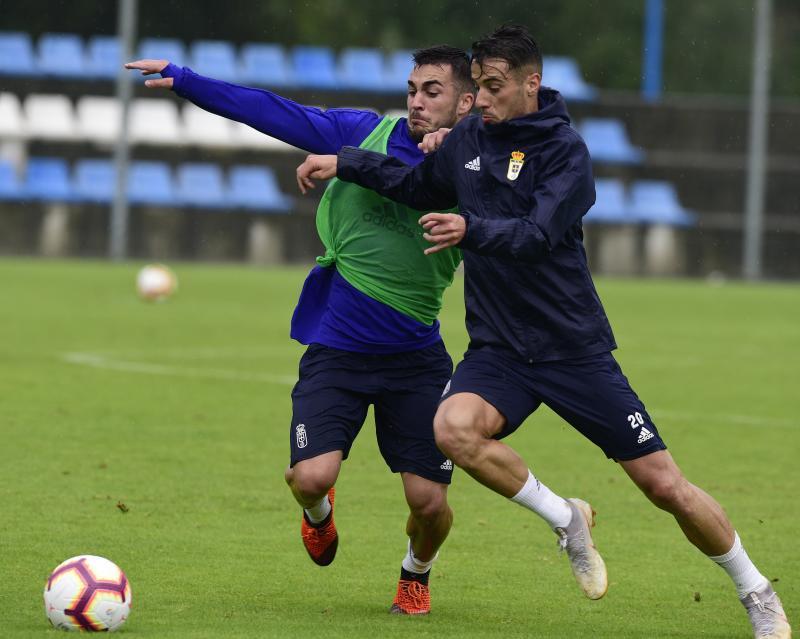 Entrenamiento del Real Oviedo (05/09/18)