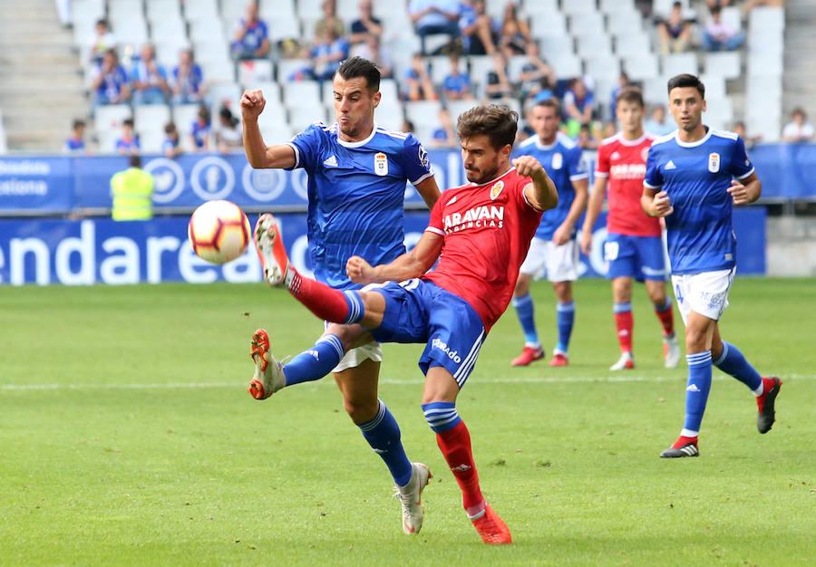 Real Oviedo 0-4 Zaragoza, en imágenes