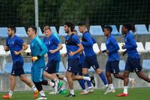 Entrenamiento del Real Oviedo (13/09)