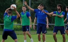 Entrenamiento del Real Oviedo (14-9-18)